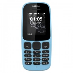 Nokia 105  Mobile Phone Blue DS