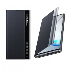 Samsung Clear View Cover Black For Note 10 Plus