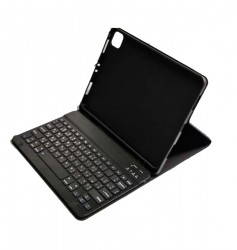 GREEN PREMIUM VEGAN LEATHER CASE WITH WIRELESS KEYBOARB FOR IPAD 10.2INCH 2019 - BLACK