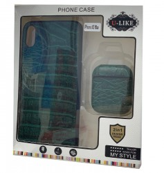 U-Like ( 2 In  1)case I phone xs max  and AirPods ( Green)