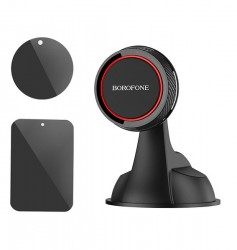 BH14 Journey Series Suction Cup in-car holder – black&Red