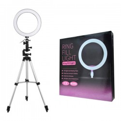 Ring fill light with Tripod Stand for Tiktok, Video Lovers 26 cm