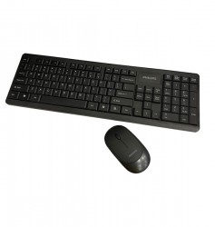 PHILIPS Wireless Keyboard and Mouse Combo | SPT6314