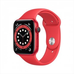 Apple Watch Series 6 GPS+Cellular 44mm  RED Aluminum Case with  Sport Band